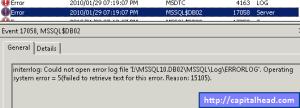 Error_17058